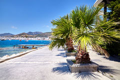 Bodrum beach lagoon Royalty Free Stock Images
