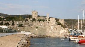 Bodrum Castle στην Τουρκία Στοκ φωτογραφία με δικαίωμα ελεύθερης χρήσης