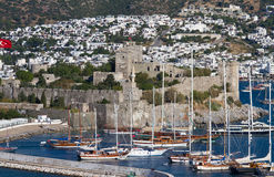 Bodrum Castle Royalty Free Stock Photos