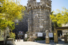 Bodrum castle entrance. Royalty Free Stock Photo