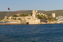 Bodrum Castle from Mugla Royalty Free Stock Photo