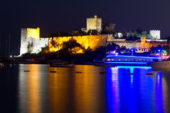 Bodrum Castle from Mugla Royalty Free Stock Photos