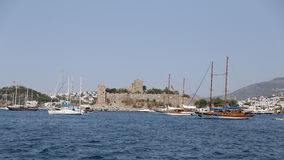 Bodrum Castle in Turkey Royalty Free Stock Photography