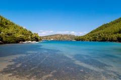 Bodrum Cennet zatoczka Fotografia Royalty Free