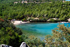 Bodrum Cennet zatoczka Zdjęcia Royalty Free