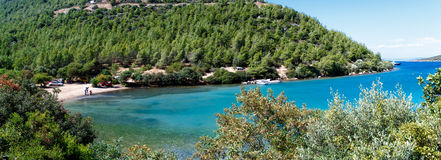 Bodrum Cennet zatoczka Obraz Royalty Free