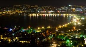 Bodrum, cidade de Gumbet de Mugla Imagens de Stock Royalty Free