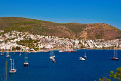 Bodrum City royalty free stock photography
