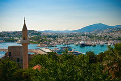 Bodrum City Stock Image