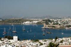 Bodrum coast Stock Photos