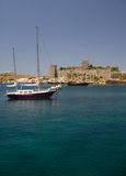 Bodrum coast Royalty Free Stock Image