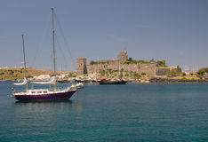 Bodrum coast Stock Image