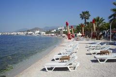 Bodrum is een district en een havenstad in MuÄŸla-Provincie Turkije stock afbeeldingen