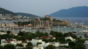Bodrum, famous holiday destination in turkey, timelapse, HD stock video footage