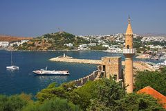 Bodrum gulf Royalty Free Stock Images