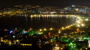 Bodrum, Gumbet Town from Mugla Royalty Free Stock Images
