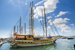 Bodrum Harbour Stock Photo