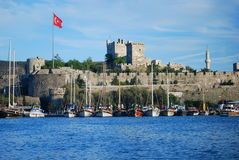 Bodrum harbour Royalty Free Stock Image
