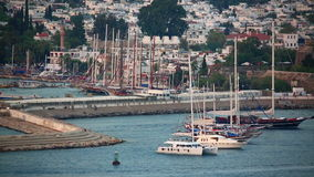 Bodrum, holiday destination in turkey Royalty Free Stock Image