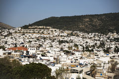 Bodrum houses Stock Photography