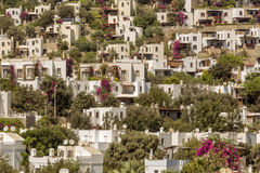 Bodrum Houses Stock Images