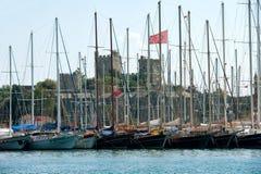 Bodrum-Jachthafen Stockfotos