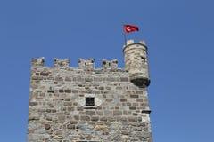 Bodrum kasztel w Turcja Zdjęcia Stock