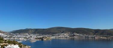 Bodrum litoral, Turquia fotos de stock royalty free