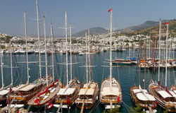 Bodrum Marina Stock Photo
