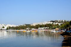 Bodrum resort Stock Image