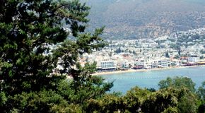 Bodrum resort Royalty Free Stock Photo
