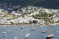 Bodrum Scene Royalty Free Stock Photos