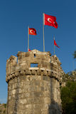 Bodrum Schloss Stockfotos