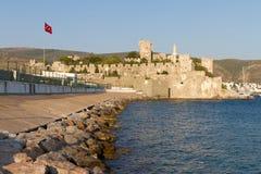 Bodrum slott från Mugla Royaltyfria Bilder
