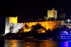 Bodrum slott från Mugla Royaltyfri Foto
