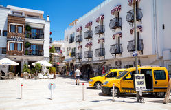 Bodrum streets in Turkey Stock Photos