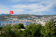 The Bodrum town Stock Images