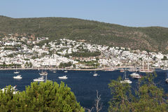 Bodrum Town in Aegean Coast of Turkey Royalty Free Stock Image