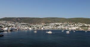 Bodrum Town in Aegean Coast of Turkey Stock Image