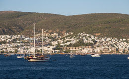 Bodrum Town Royalty Free Stock Image