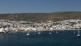 Bodrum Town Stock Photo