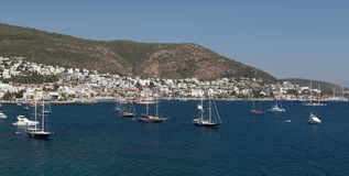 Bodrum Town Royalty Free Stock Photos