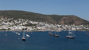 Bodrum Town Stock Photos