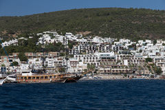 Bodrum Town Stock Images