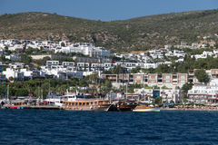 Bodrum Town Stock Image