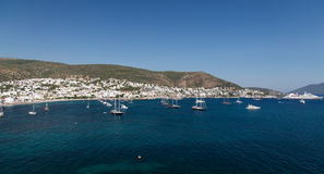 Bodrum Town. In Aegean Coast of Turkey Royalty Free Stock Image