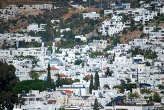 Bodrum town Royalty Free Stock Photo