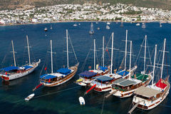 Bodrum Town from Mugla Royalty Free Stock Image