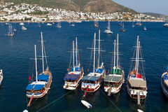 Bodrum Town from Mugla Stock Image
