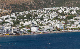 Bodrum Town from Mugla Royalty Free Stock Images